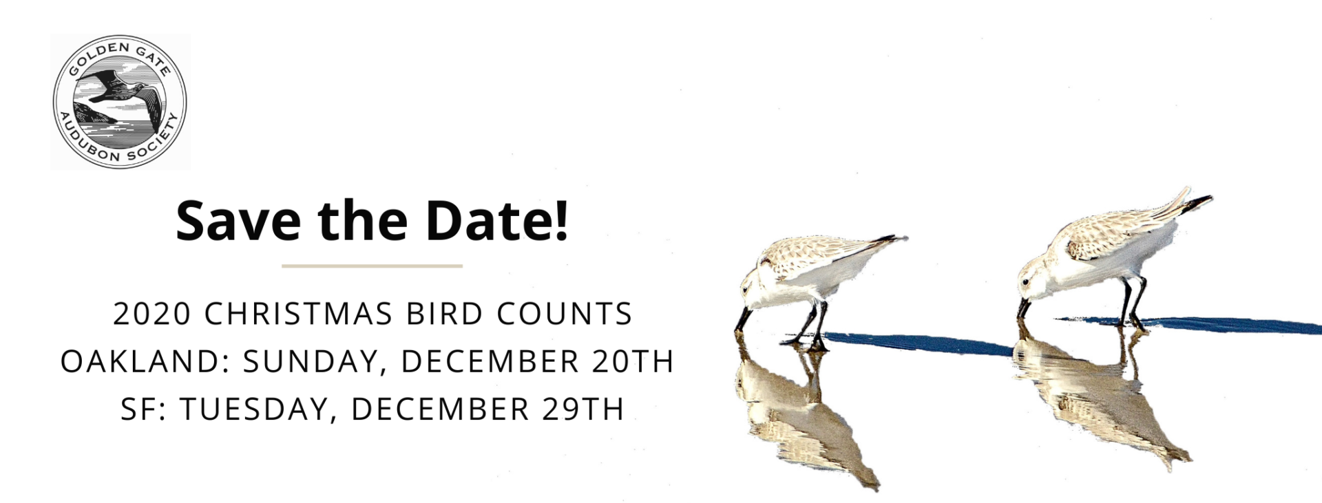 2020 Christmas Bird Count Dates Christmas Bird Count