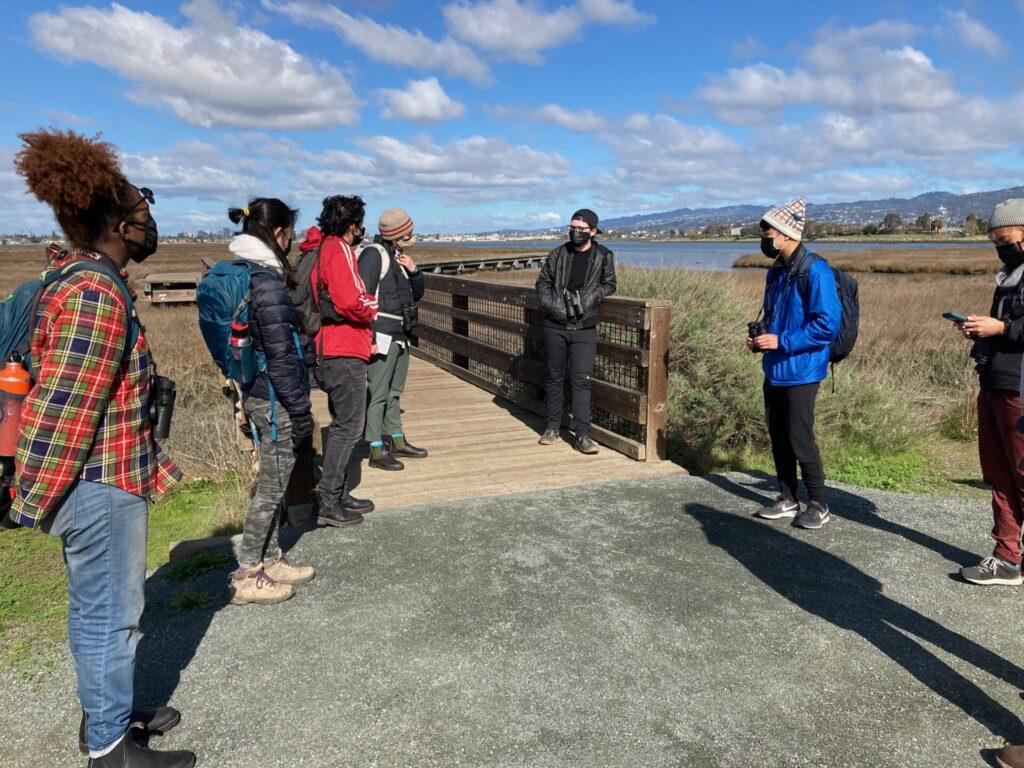 Aryn and Outdoor Educators Institute at Arrowhead Marsh