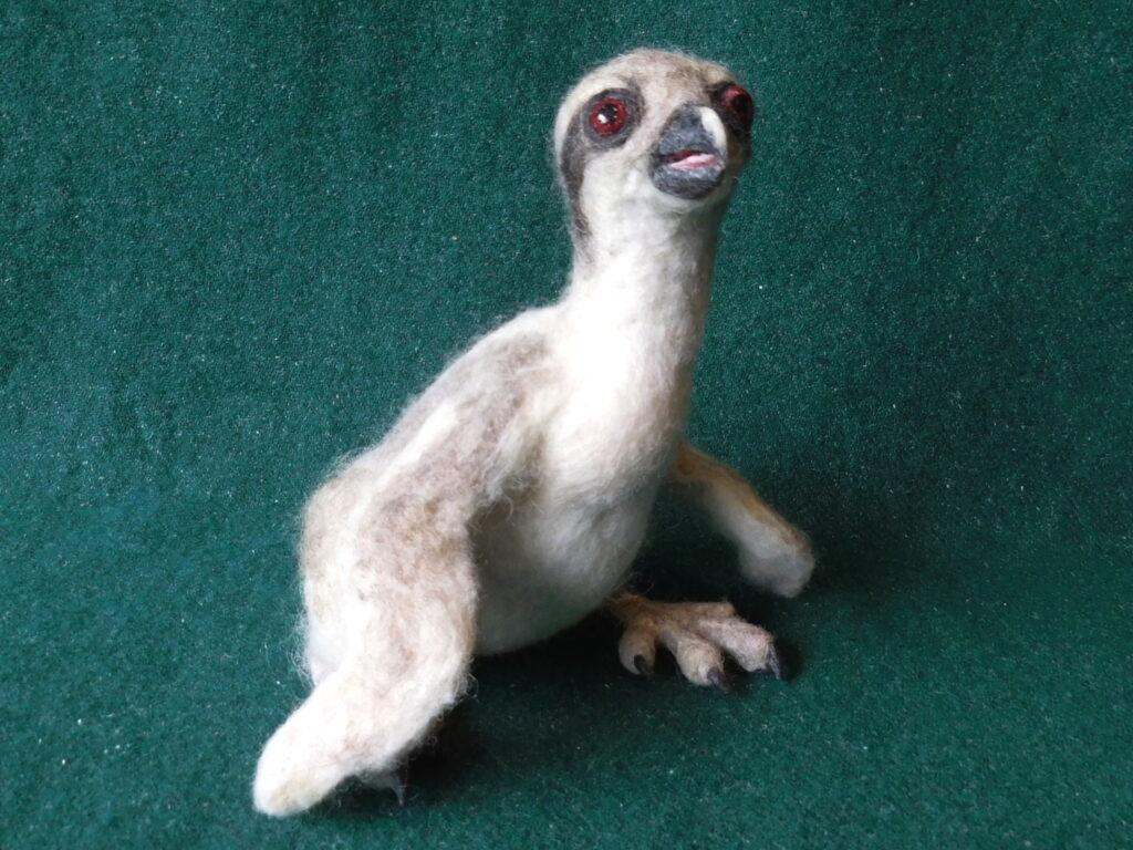 Felted Osprey chick