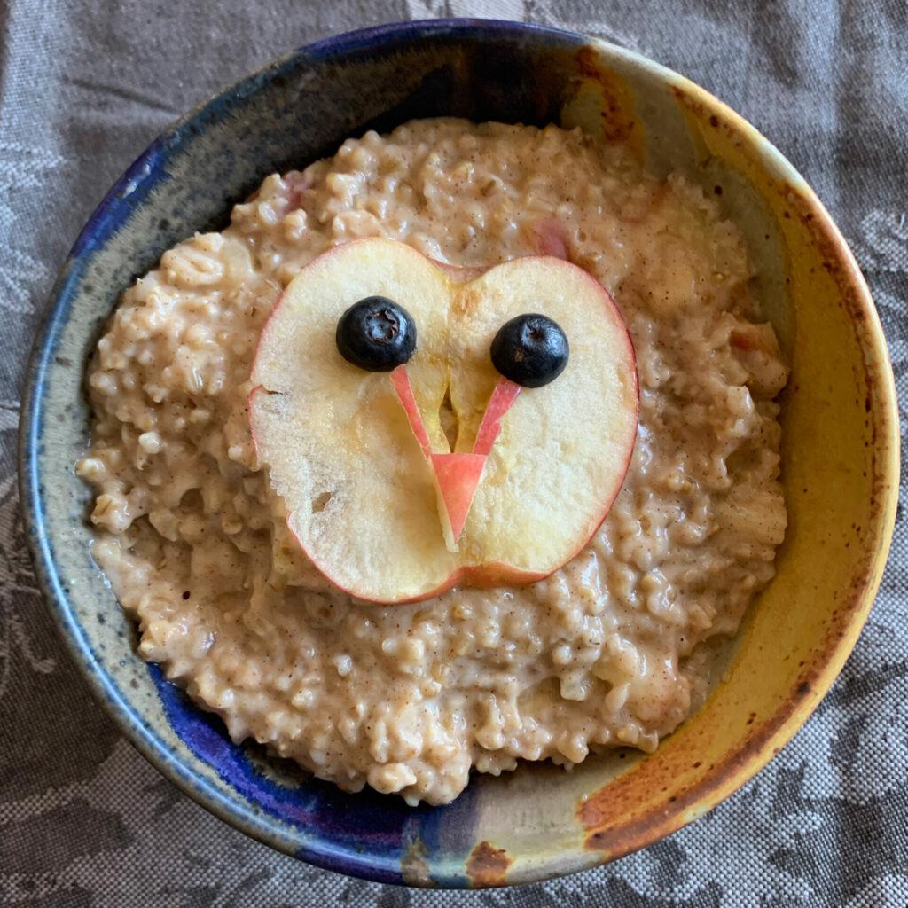 Breakfast Barn Owl by Alan Krakauer