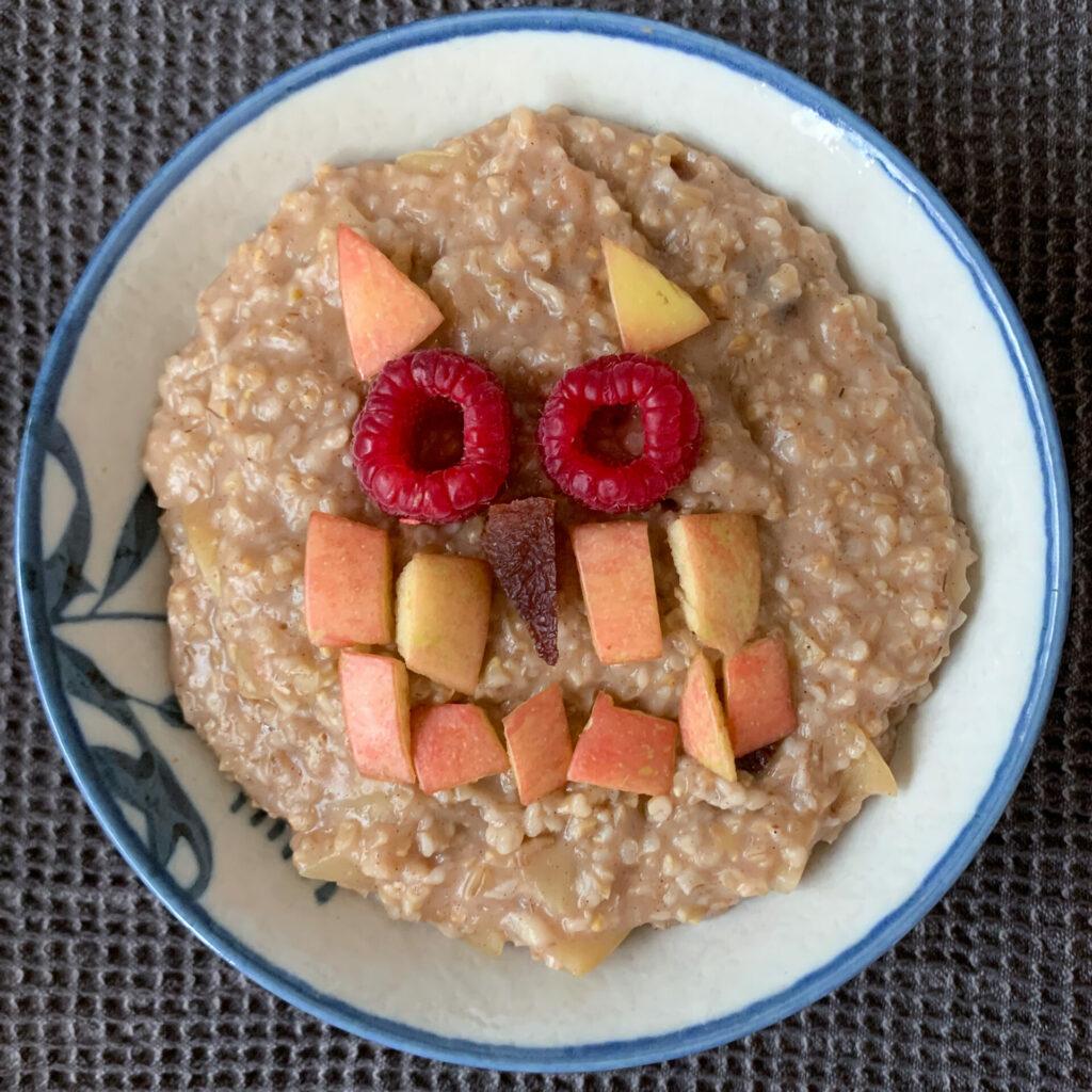 Breakfast owl by Alan Krakauer