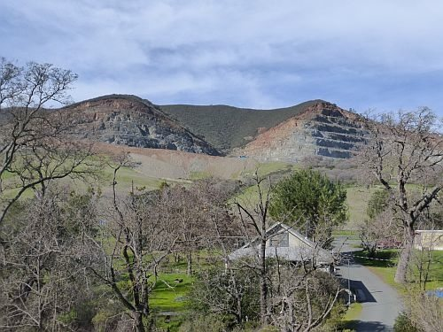 CEMEX rock quarry, by Steve Lombardi