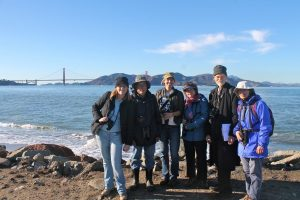 Fort Mason count team, by Ilana DeBare