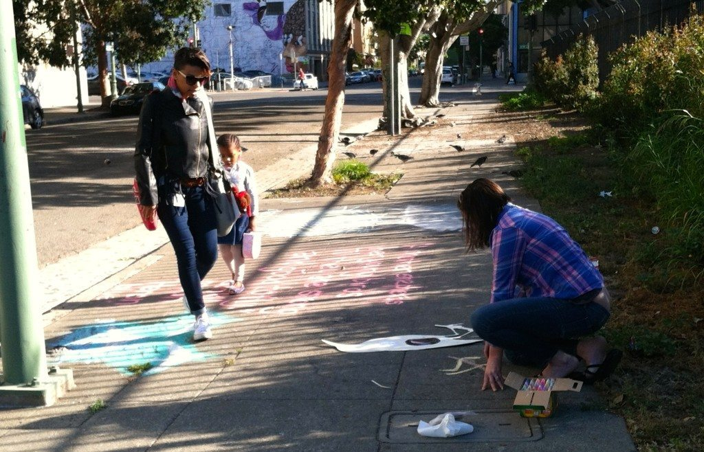 Street art is a great way to engage passersby