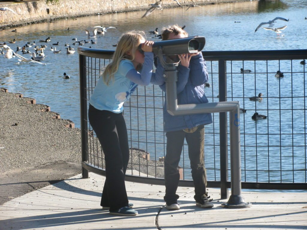 2012 Kids' Bird Count at Lake Merritt
