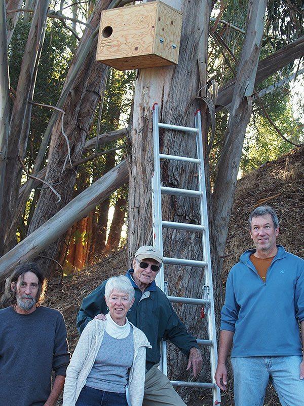 Mike Bull, Marj Blackwell, Bill Blackwell, and Doug Mosher / Photo by Carla Din